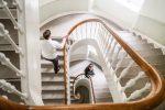 Lys trappeopgang ved Dansk Ejerkapital